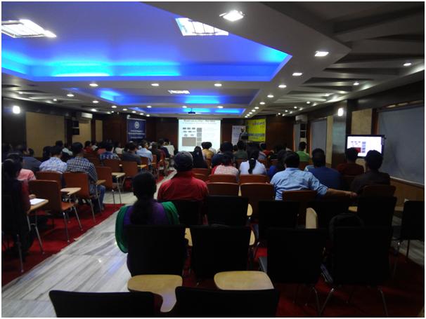 Dr Chennupati Jagadish at a presentation at CCRN CU Saltlake Kolkata(9th March 2017).