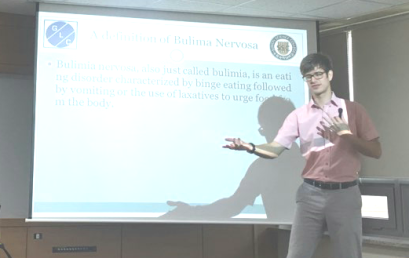 "Lecture on ""Listening to patients of eating disorders"""