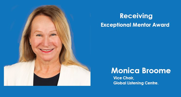 Dr. Monica Broome receives Exceptional Mentor Award