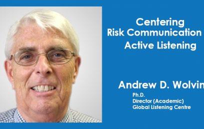 Centering Risk Communication on Active Listening